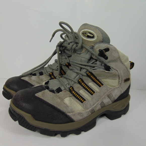 Adidas ClimaProof Gore-Tex Hiking Boots Gray 7.5